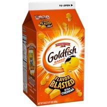 Crackers: Goldfish Flavor Blasted