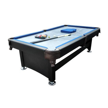 6 39 x 3 3 39 black and blue slate billiard and pool game for Pool table 6 x 3