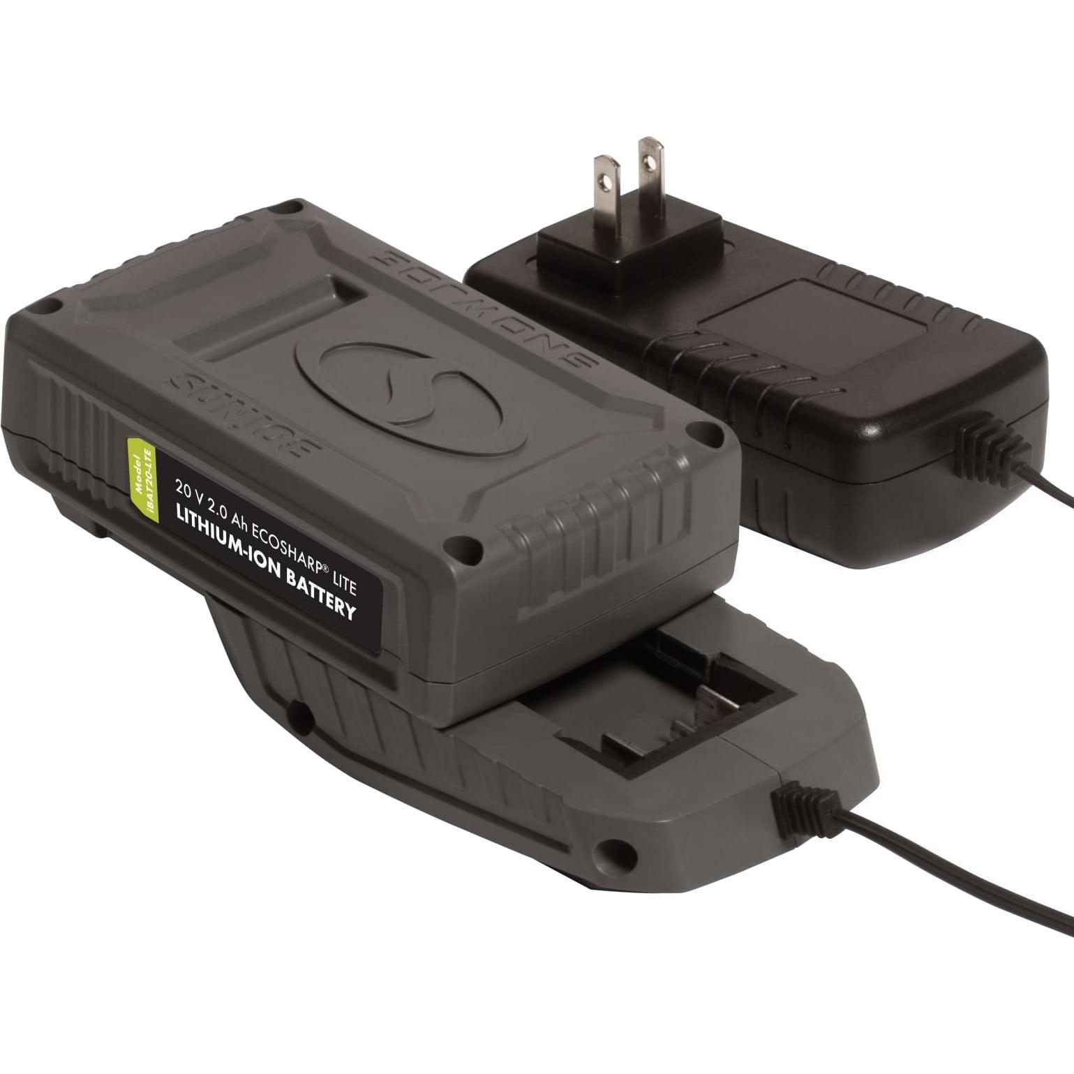 Snow Joe iCHRG20 EcoSharp Lithium-Ion Battery Charger | 20 Volt