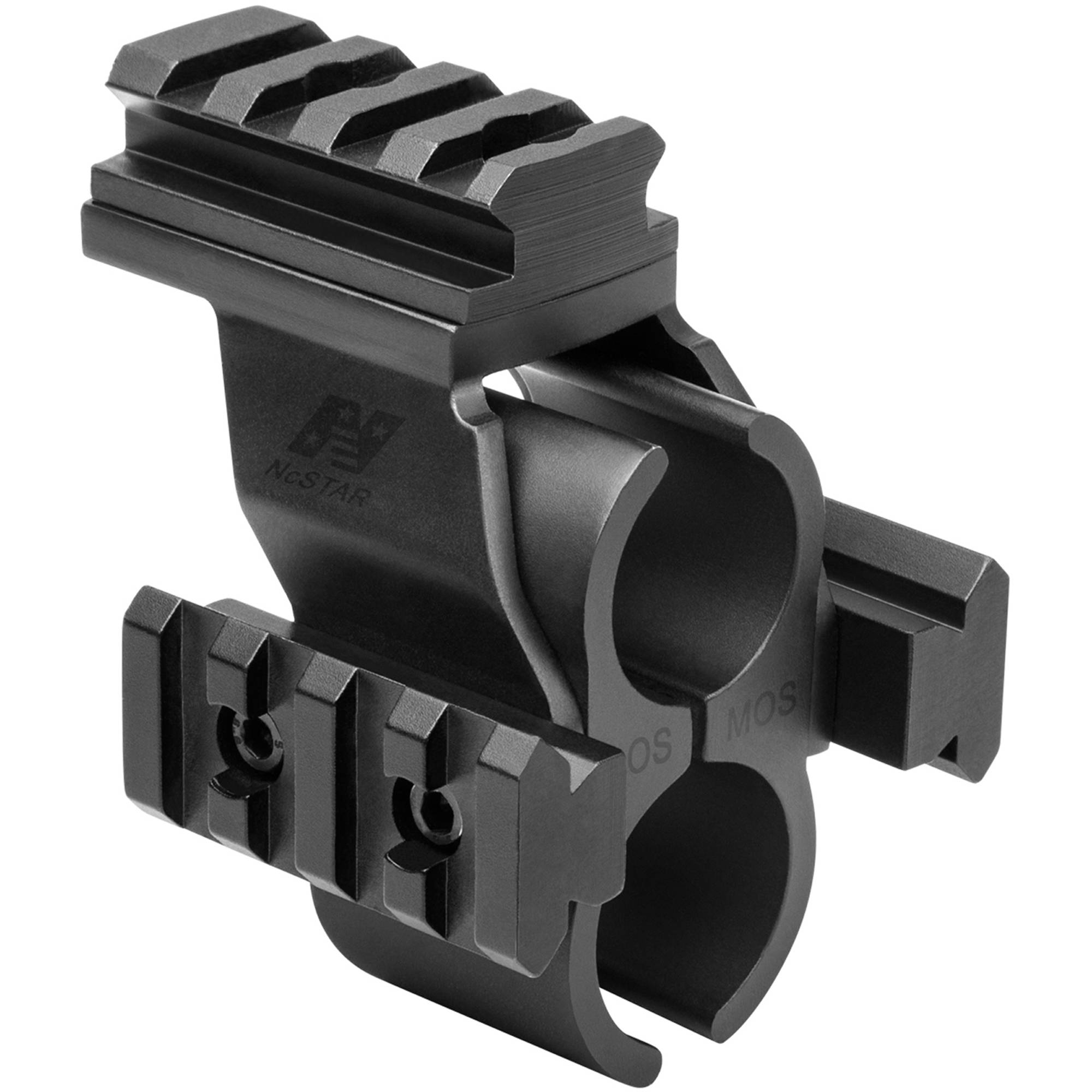 NcSTAR Shotgun Barrel MD/Rail Mount, Moss 500/590