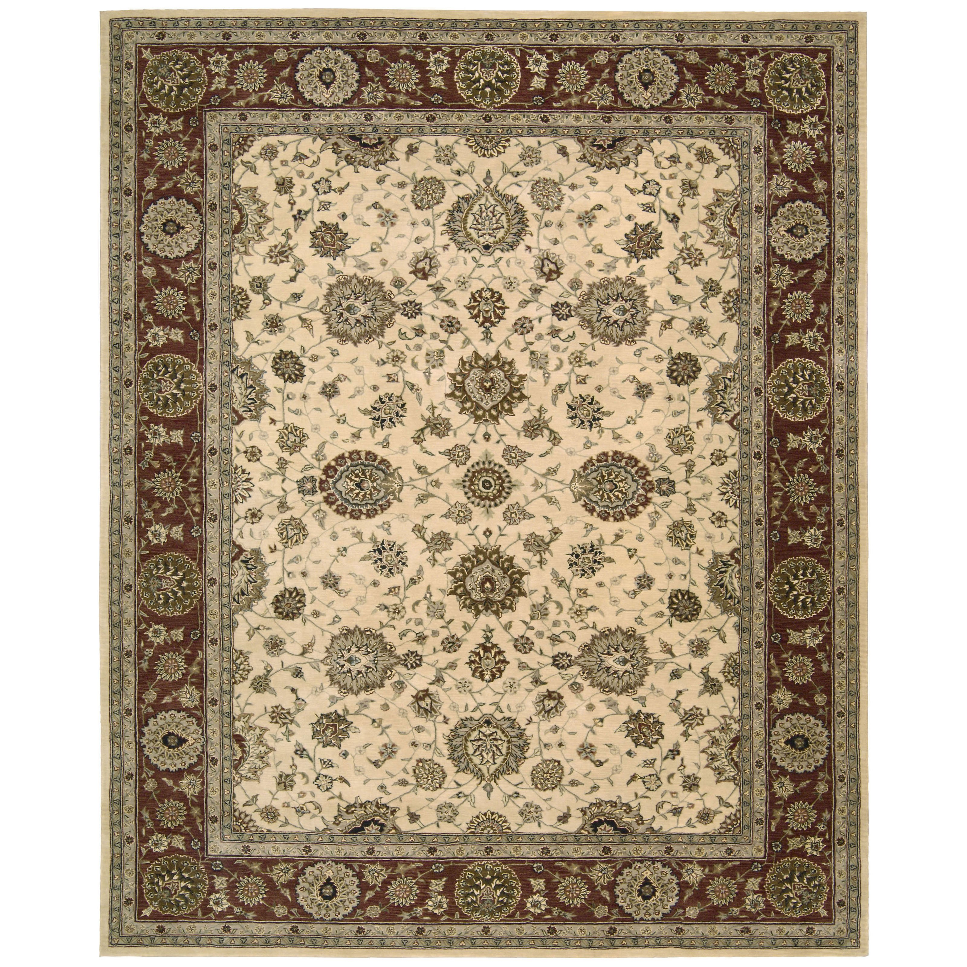 Nourison 2000 2204 Oriental Rug Ivory-2 x 3 ft. by Overstock