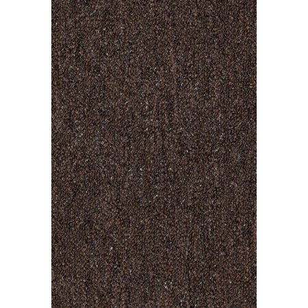 Color World Collection Solid Color Indoor Outdoor Area Rugs Chocolate - 10'x12' ()