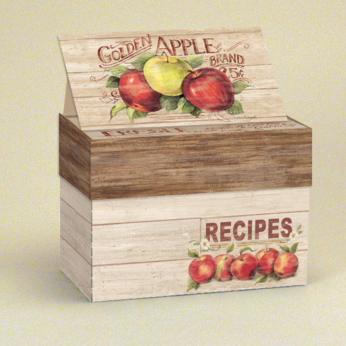 Lang Apple Orchard Recipe Card Box