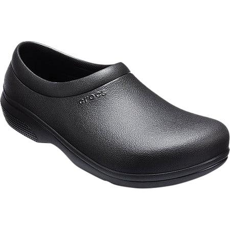 Crocs Unisex On The Clock Work Slip On Shoe
