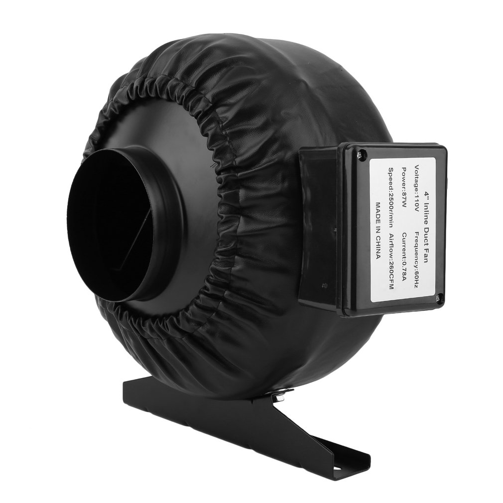 Strong 4Inch 260CFM Booster Exhausting Fan For Refreshing Home Kitchen