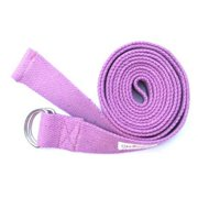 KushOasis OM131010-Magenta OMSutra Yoga Strap D-Ring 10 ft. - Color - Magenta