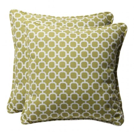 Pillow Perfect 450872 Hockley Pear 18.5-Inch Throw Pillow (Set of 2) - image 1 of 1