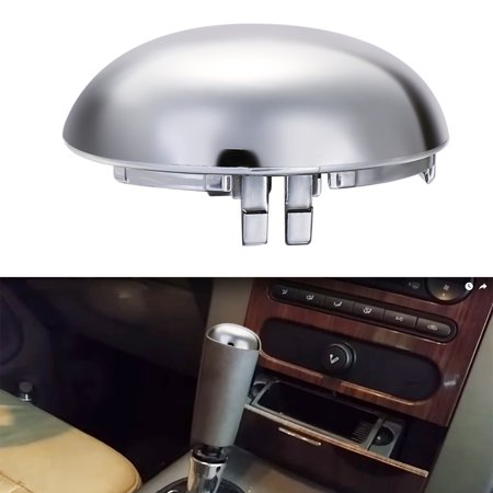 E46 Shift Knob - Replacement Shift Knob Cover for 2004-2006 Ford F150 Chrome Cap