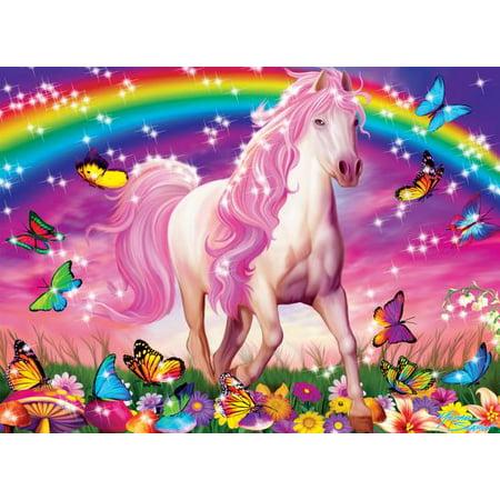 Ravensburger Horse Dream Glitter Puzzle, 100 Pieces