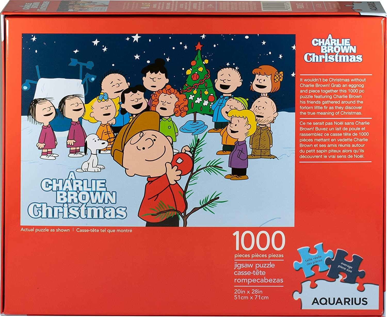 Puzzle Jigsaw Puzzle A Charlie Brown Christmas 1000 piece 20x28 Aquarius