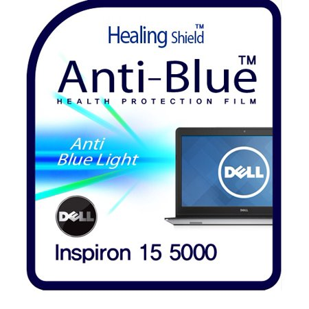 Healingshield Screen Protector Eye Protection Anti UV Blue Ray Film for Dell Laptop Inspiron 15 5000 (Computer Screen Uv Blocker)