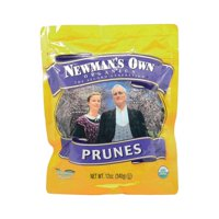 Newman's Own Organics Organic Pitted - Prunes - Pack of 12 - 12 Oz.