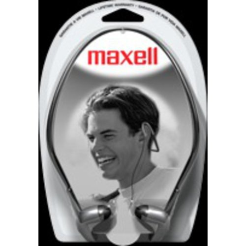 Maxell Lightweight Stereo Neck Band Earbuds