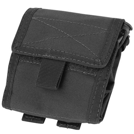 Condor MA36 Tactical Roll Up Utility MOLLE Pouch Holster - Black