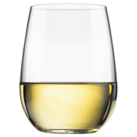 Libbey 4pc Stemless White Wine Glasses