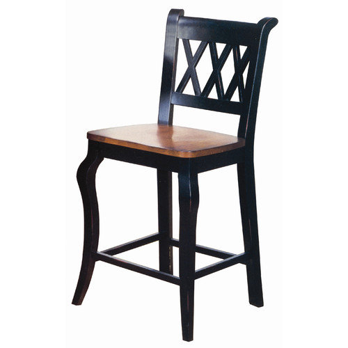 Sunset Trading Sunset Selections 24'' Bar Stool (Set of 2)