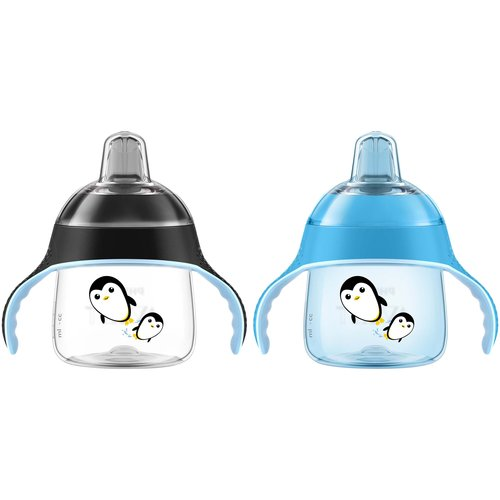 Philips AVENT My Penguin Sippy Cup, 2 count