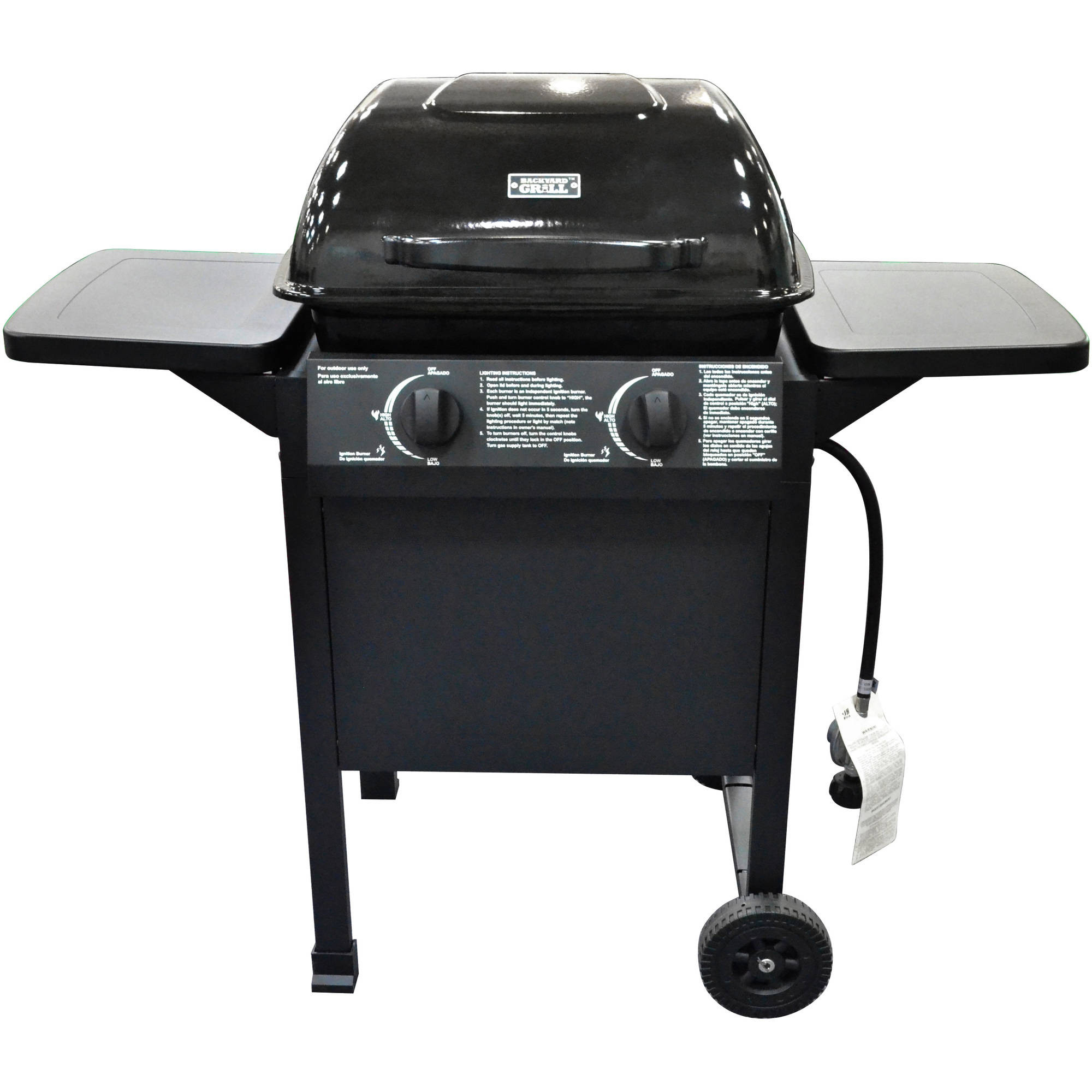 Backyard Grill 2-Burner Cart Gas Grill
