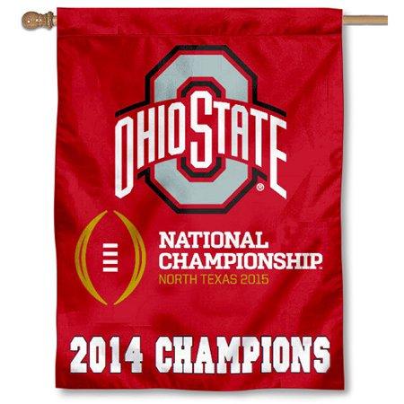 Ohio State University Buckeyes Logo Flag - Ohio State University Halloween Party