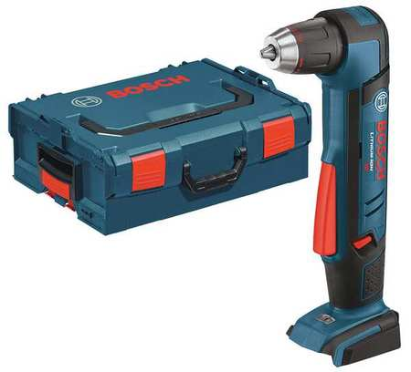 "Cordless Right Angle Drill,18V,1/2"",Bare Tool BOSCH ADS181BL"