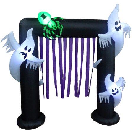 BZB Goods Halloween Inflatable Archway Indoor/Outdoor Decoration