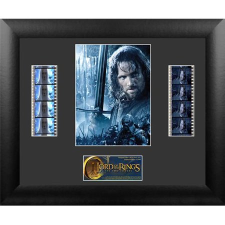 Film Cells USFC5621 Lord of the Rings: Two Towers - S1 - Double (Lord Of The Rings Mini Film Cell)