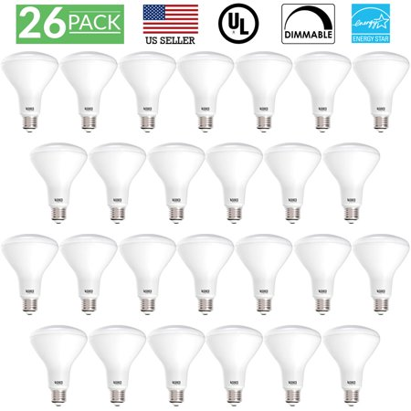 Sunco Lighting 26 Pack BR30 Dimmable Flood LED Light Bulb 11W 2700K, Soft White