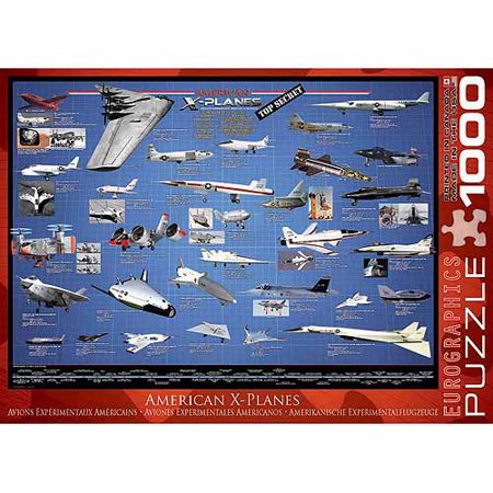 EuroGraphics American Aviation X-Planes 1000-Piece Puzzle