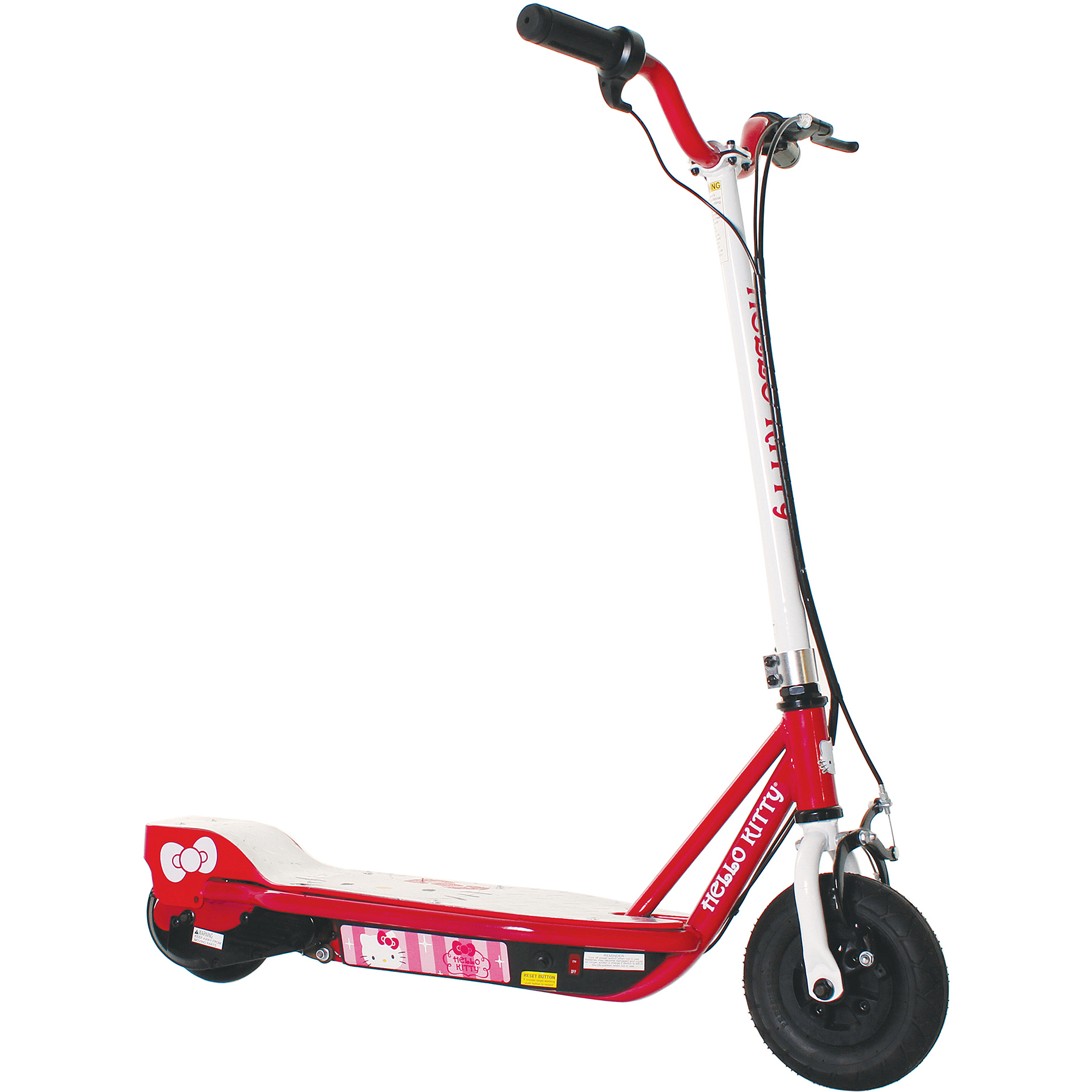 Hello Kitty Girls' 24V Step-Up Electric Scooter, Pink by Dynacraft