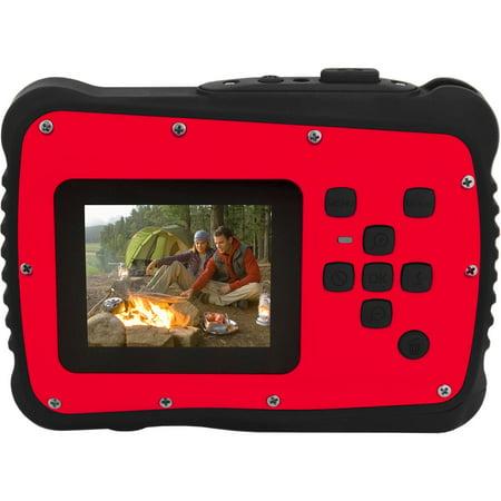Coleman Red C6WP MiniXtreme HD Video Waterproof Digital Camera