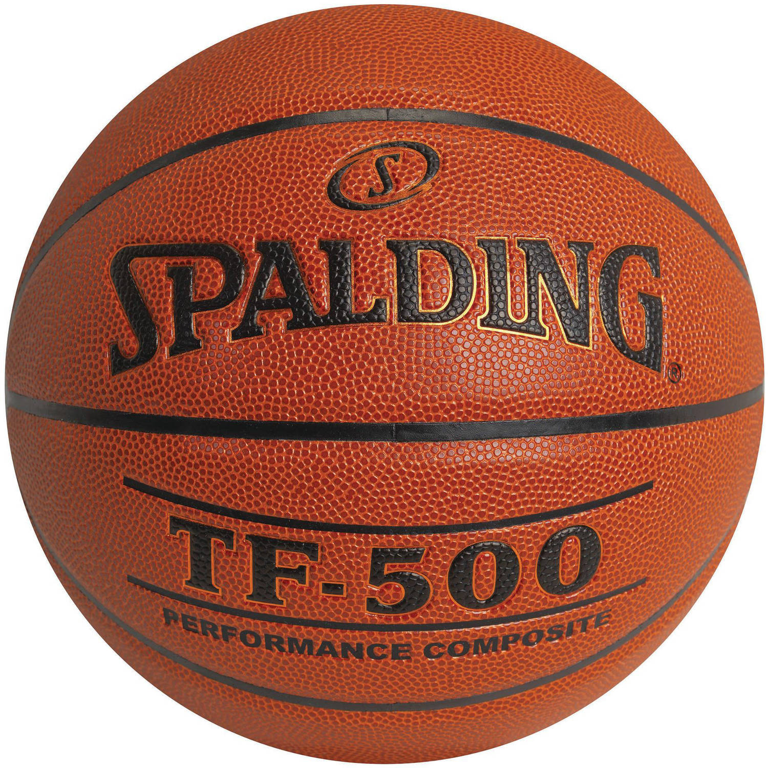Spalding Tf-500 Indoor/Outdoor Composite Basketball, Youth 27.5