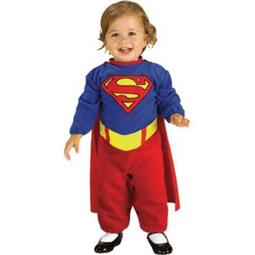 Costumes For All Occasions Ru85302 Supergirl Infant 6-12 Months
