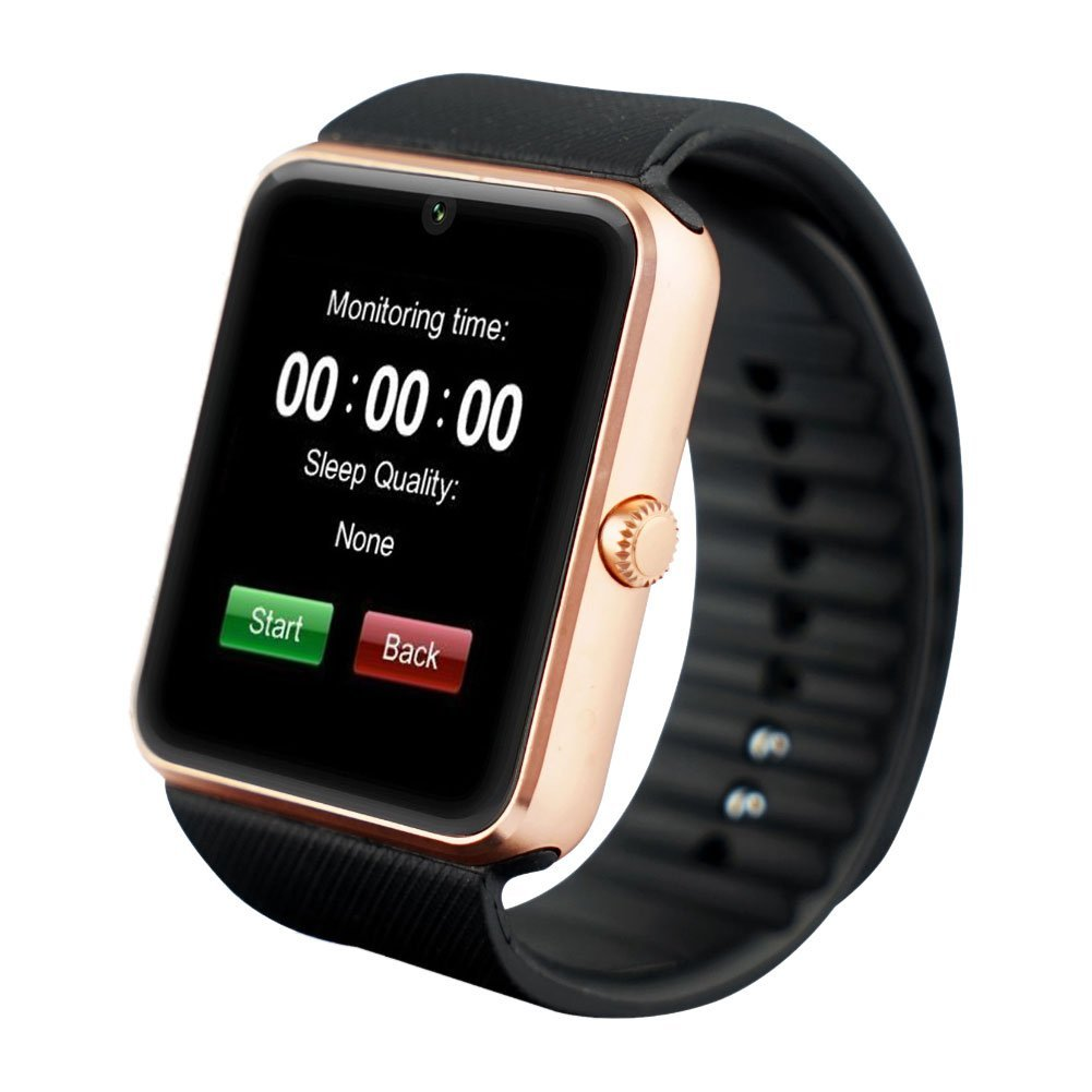 TechComm GT08 Bluetooth and GSM Unlocked Smart Watch with Camera