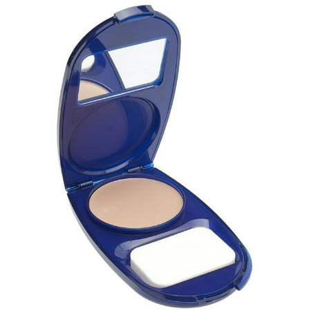 CoverGirl Smoothers AquaSmooth Compact Foundation, Creamy Natural [720] 0.40 oz (Pack of 2)