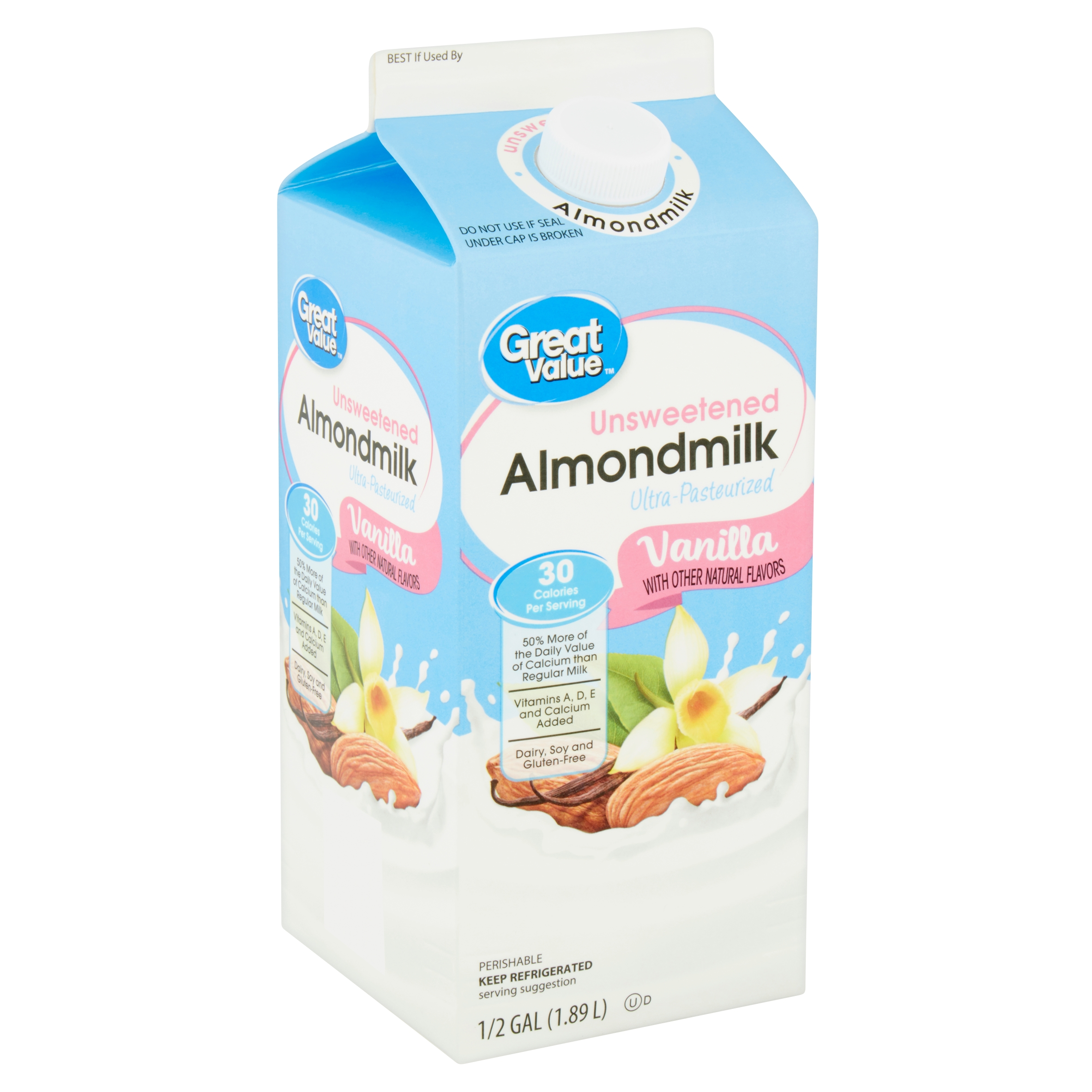 Unsweetened Vanilla Almond Milk Nutritional Info – Blog Dandk