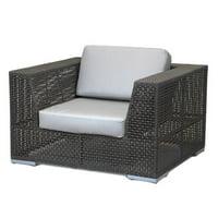 Hospitality Rattan Soho Patio Chair with Cushions by Hospitality Rattan