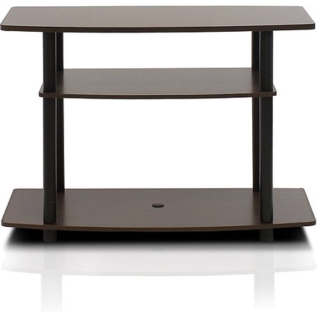 "Furinno Turn-N-Tube No Tools, 3-Tier TV Stands for 32"" TV"