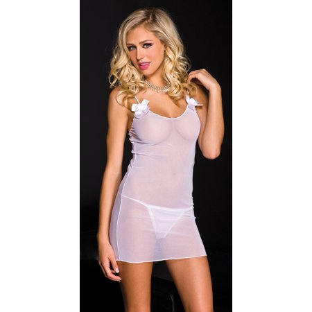 Chemise And Thong Plus Size (Chemise Music)