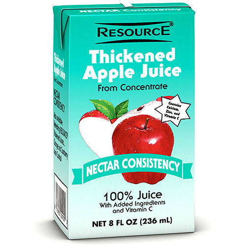 Resource Thickened Apple Juice, Nectar 27 X 8-Ounce