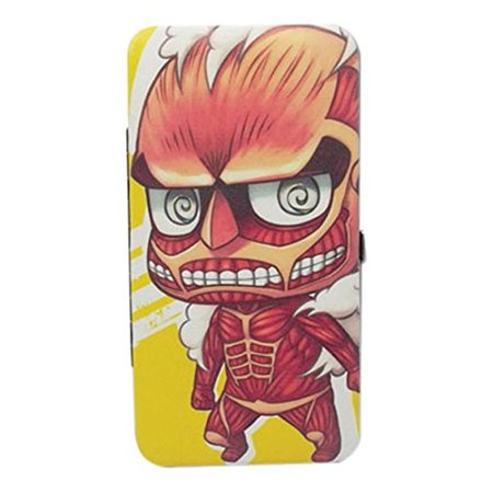 Attack On Titan - SD Group Hinge Wallet, Fully Licensed By Ship from US