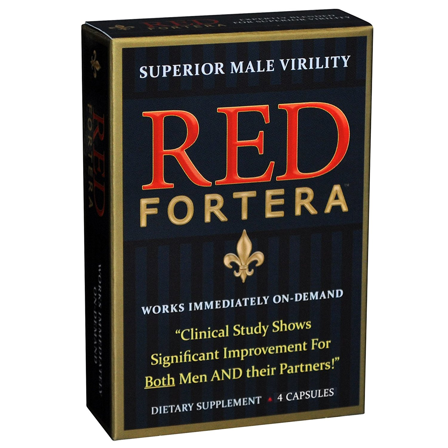 Next Gen Health Solutions Red Fortera  Male Virility, 4 ea
