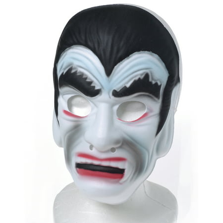 Kid Fun Halloween Foam Vampire Costume Face Mask, Off-White, One-Size (Vampire Face Halloween)
