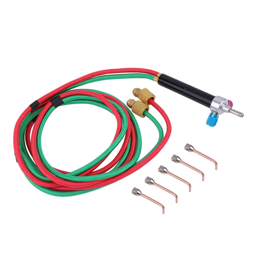 Mini Gas Torch Welding Soldering Kit With 5 Tips For Jewelry Jewelers Oxygen Soldering Equipment Gas Torch Set