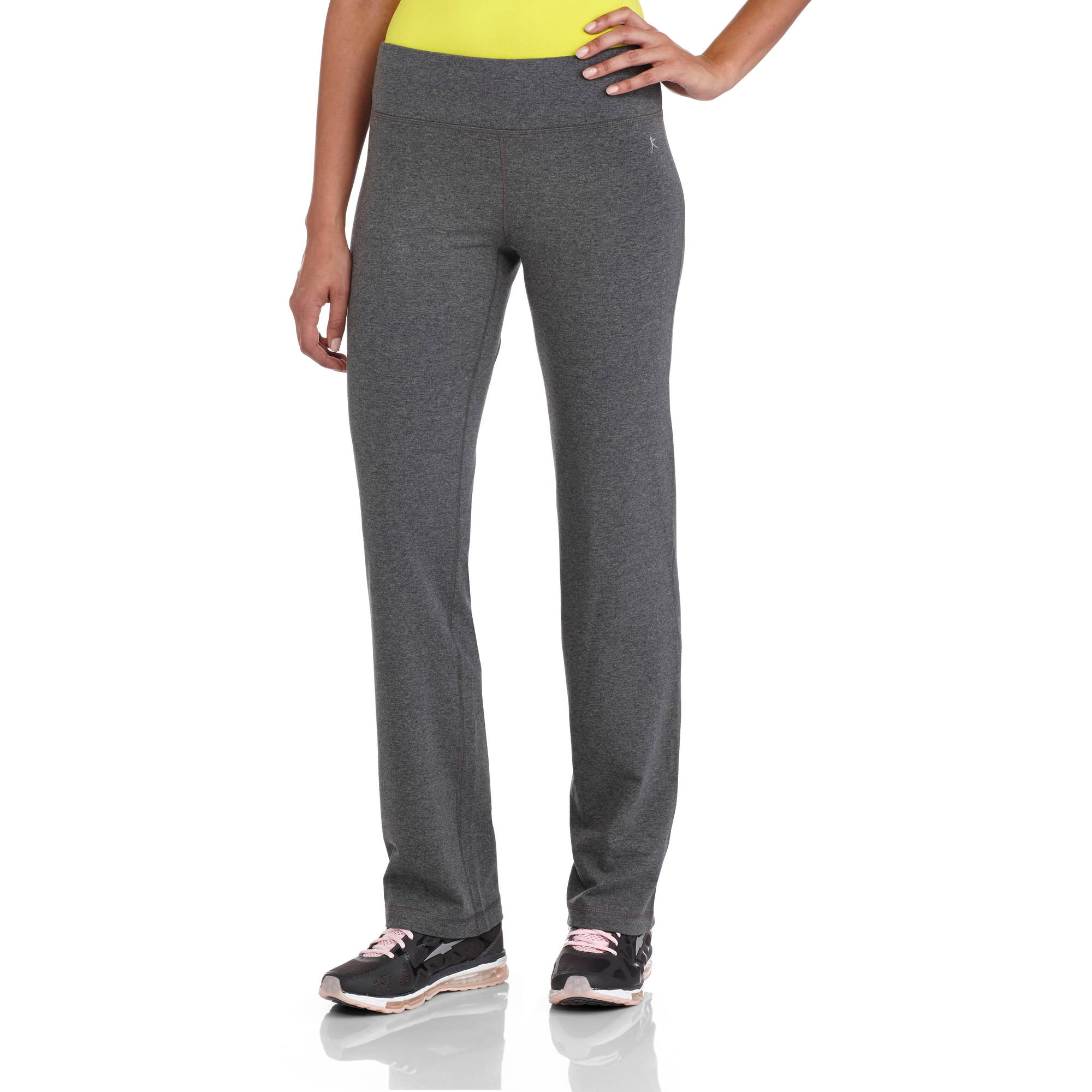 Danskin Now Women's Plus Size Dri More Straight Leg Pants