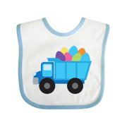 Easter Egg Truck Boys Baby Bib