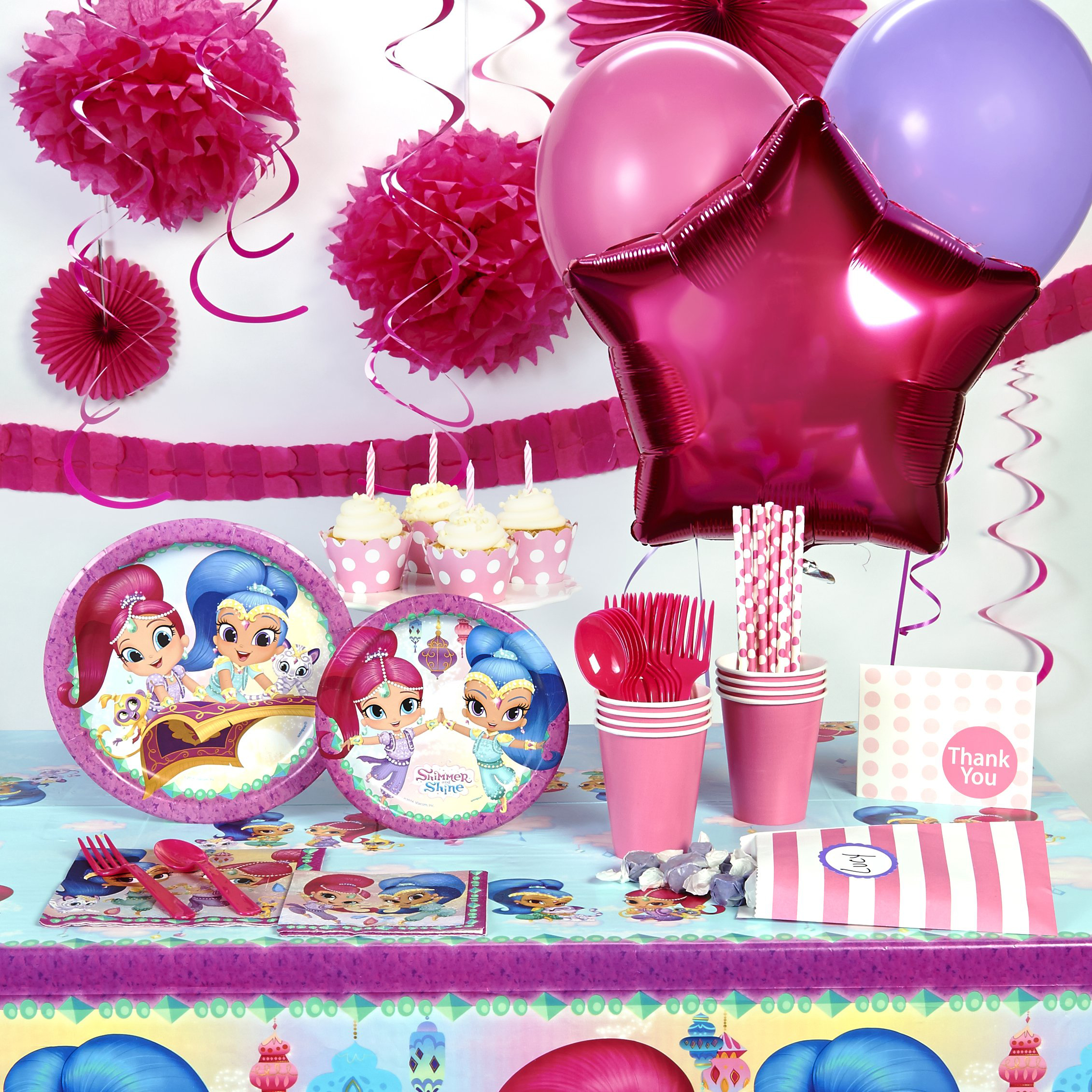 Shimmer and Shine Theme - Walmart.com