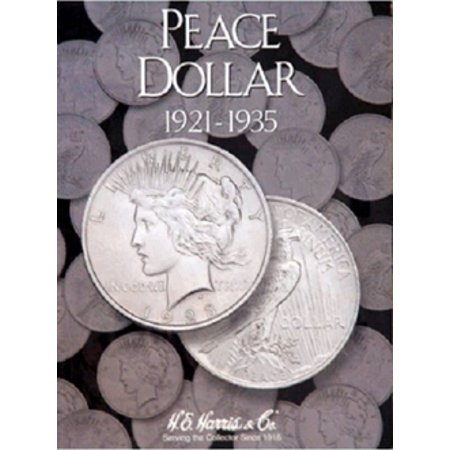 Peace Dollar Coin Folder, 1921-1935, by H.E. -