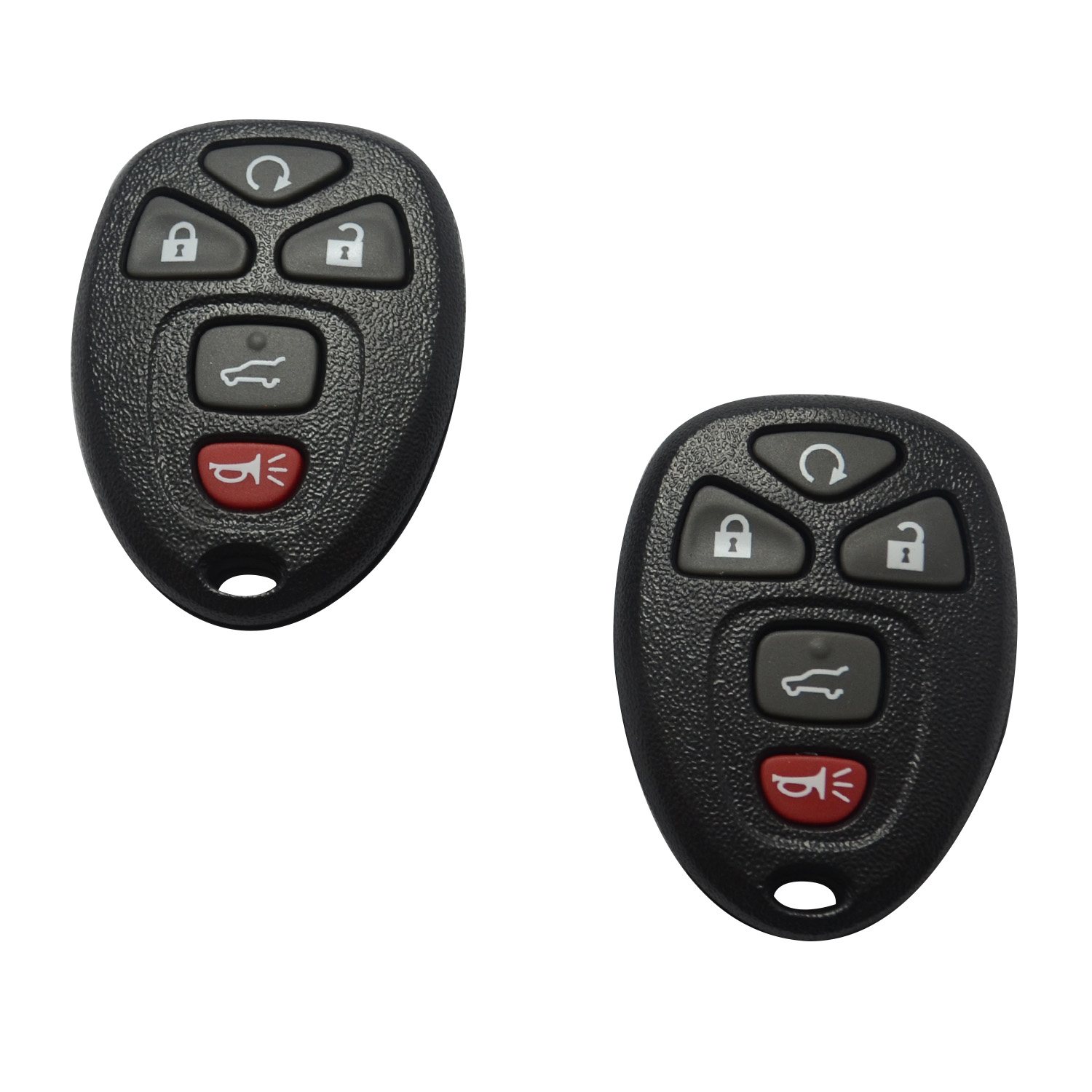 SEGADEN Replacement Key Shell fit for FORD 4 Button Keyless Entry Remote Key Case Fob PG730B