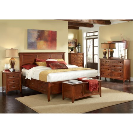 Simply Solid Aiden Solid Wood 5-piece Queen Bedroom Collection ...