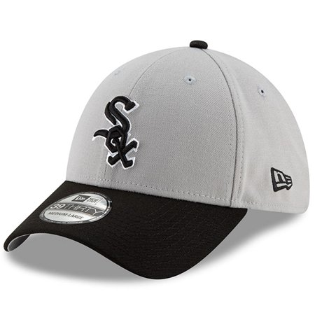 online store 76f8f fee18 Chicago White Sox New Era Team Classic 39THIRTY Flex Hat - Gray Black -  Walmart.com